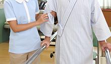 介護老人保健施設で自立を支援